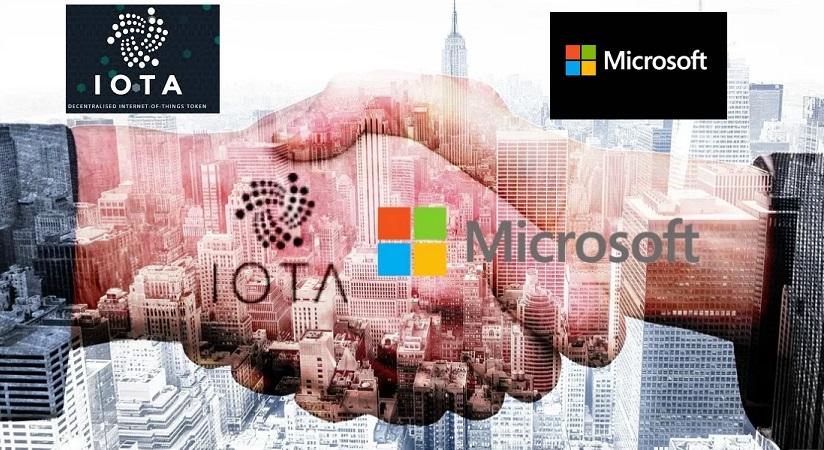IOTA se asocia con Microsoft