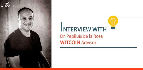 Pep Lluís de la Rosa witcoin