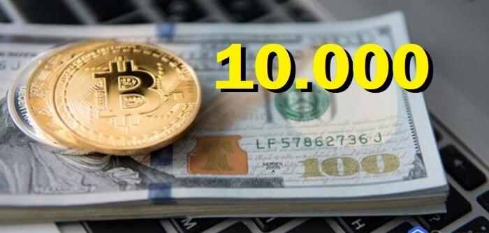 Bitcoin volverá a los 10 Mil Dólares